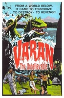 Varan the Unbelievable movie poster (1962) picture MOV_fd14b384