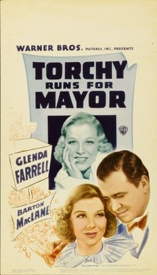 Torchy Runs for Mayor movie poster (1939) poster MOV_fd2b98d0