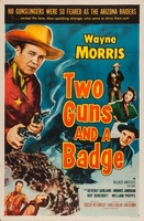 Two Guns and a Badge movie poster (1954) picture MOV_fd2da5c0