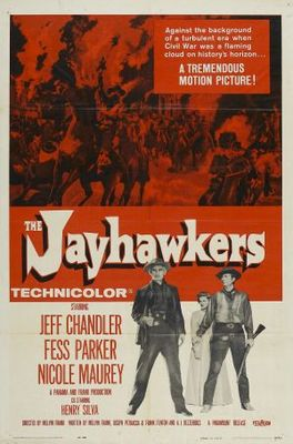 The Jayhawkers! movie poster (1959) poster MOV_fd3d486a