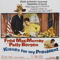 Kisses for My President movie poster (1964) picture MOV_fd40ef52