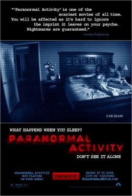 Paranormal Activity movie poster (2007) poster MOV_fd57cd33