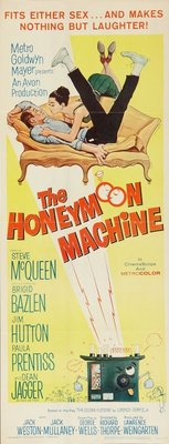 The Honeymoon Machine movie poster (1961) poster MOV_fd5d935f