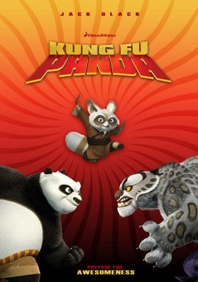 Kung Fu Panda movie poster (2008) poster MOV_fd64415d
