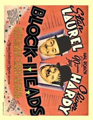 Block-Heads movie poster (1938) poster MOV_fd649f15