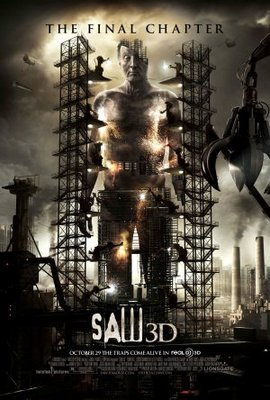 Saw 3D movie poster (2010) poster MOV_fd8f67db
