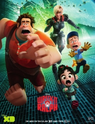 Wreck-It Ralph movie poster (2012) poster MOV_fd956482