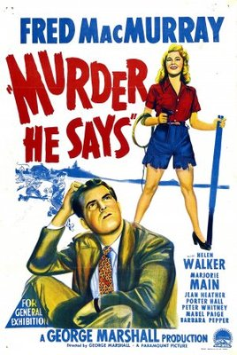 Murder, He Says movie poster (1945) poster MOV_fd9aaa1d
