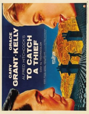To Catch a Thief movie poster (1955) poster MOV_fdab0295