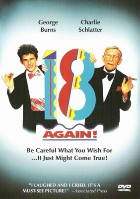 18 Again! movie poster (1988) poster MOV_fdab12bb