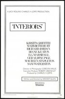 Interiors movie poster (1978) picture MOV_fdb071fd