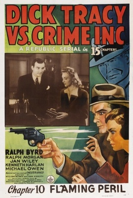 Dick Tracy vs. Crime Inc. movie poster (1941) poster MOV_fdb67c82