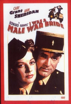 I Was a Male War Bride movie poster (1949) poster MOV_fdba8365
