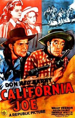 California Joe movie poster (1943) poster MOV_fdbe6f5f