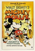 Mickey's Nightmare movie poster (1932) picture MOV_fdcdec23