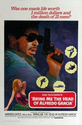 Bring Me the Head of Alfredo Garcia movie poster (1974) poster MOV_fde3b7b7