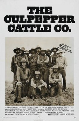 The Culpepper Cattle Co. movie poster (1972) poster MOV_fdfac318