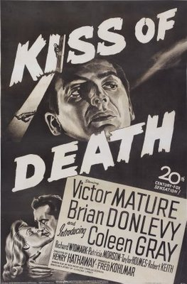 Kiss of Death movie poster (1947) poster MOV_fdfaca18