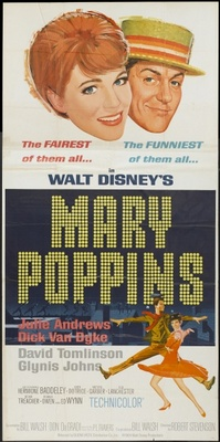 Mary Poppins movie poster (1964) poster MOV_fe098ad5