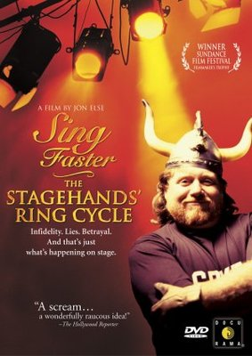 Sing Faster: The Stagehands' Ring Cycle movie poster (1999) poster MOV_fe430c46