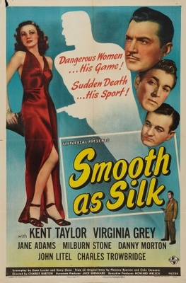 Smooth as Silk movie poster (1946) poster MOV_fe56590d