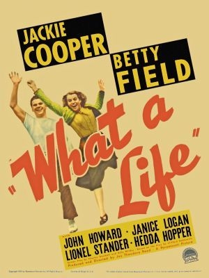 What a Life movie poster (1939) poster MOV_fe68a390
