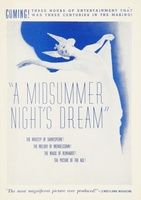 A Midsummer Night's Dream movie poster (1935) picture MOV_fe812977
