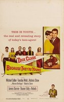 Because They're Young movie poster (1960) picture MOV_fe847951