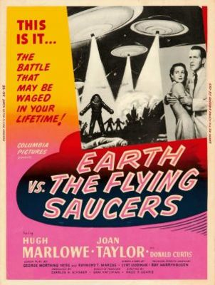 Earth vs. the Flying Saucers movie poster (1956) poster MOV_fe8d7530