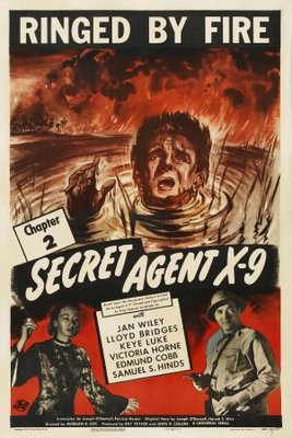 Secret Agent X-9 movie poster (1945) poster MOV_fe9260e0