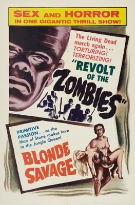 Blonde Savage movie poster (1947) poster MOV_fea09a5d