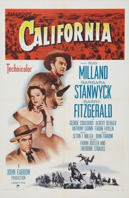 California movie poster (1946) poster MOV_fea8149a