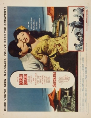 Sayonara movie poster (1957) poster MOV_feb04b9a