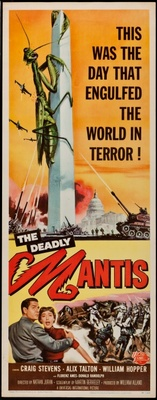 The Deadly Mantis movie poster (1957) poster MOV_fec5eaf4