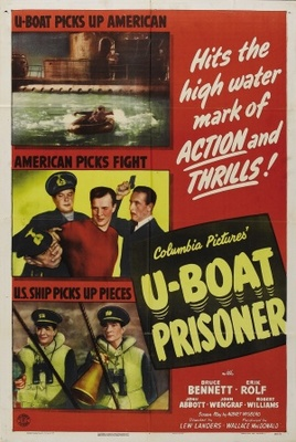 U-Boat Prisoner movie poster (1944) poster MOV_fec95939