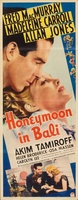 Honeymoon in Bali movie poster (1939) picture MOV_feca0d3b