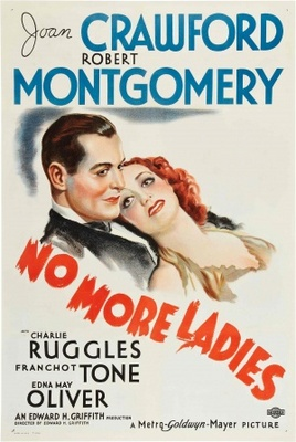 No More Ladies movie poster (1935) poster MOV_fed2ba45