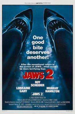 Jaws 2 movie poster (1978) poster MOV_fef86bbd