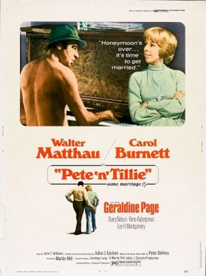 Pete 'n' Tillie movie poster (1972) poster MOV_ff1ba828