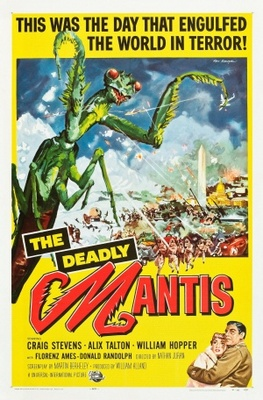 The Deadly Mantis movie poster (1957) poster MOV_ff250658