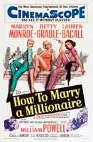 How to Marry a Millionaire movie poster (1953) picture MOV_ff2fcc2a