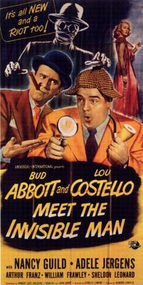 Abbott and Costello Meet the Invisible Man movie poster (1951) poster MOV_ff5a4337
