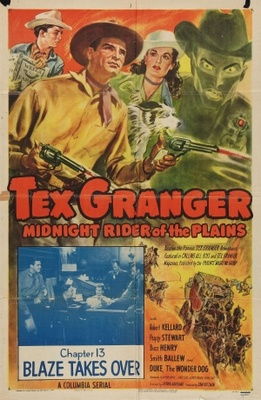 Tex Granger, Midnight Rider of the Plains movie poster (1948) poster MOV_ff74b07f