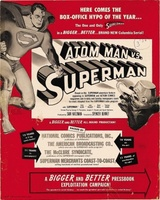 Atom Man Vs. Superman movie poster (1950) picture MOV_ff7bc7ac