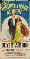 History Is Made at Night movie poster (1937) picture MOV_ffa2d7eb