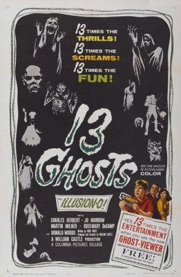 13 Ghosts movie poster (1960) poster MOV_ffa36423