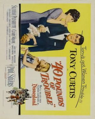40 Pounds of Trouble movie poster (1962) poster MOV_ffad68d9