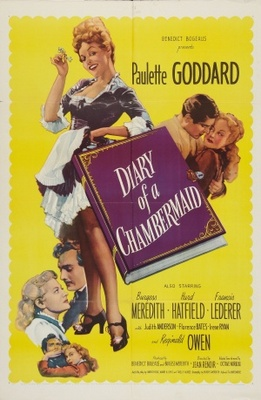The Diary of a Chambermaid movie poster (1946) poster MOV_ffba4ab4