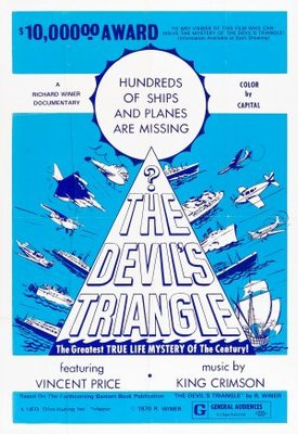 The Devil's Triangle movie poster (1974) poster MOV_ffe4f4e2