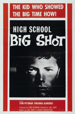High School Big Shot movie poster (1959) poster MOV_fff38a37